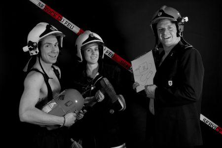 Calendrier Pompier 33