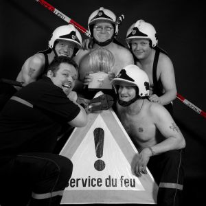 Calendrier Pompier 56